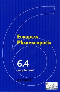 Goodtastepolice.fr European Pharmacopoeia - Supplement 6.4 Image