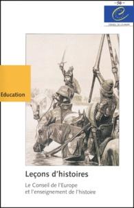 Ucareoutplacement.be Leçons d'histoires - Le Conseil de l'Europe et l'enseignement de l'histoire Image
