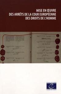 Deedr.fr Mise en oeuvre des arrêts de la Cour européenne des droits de l'homme Image