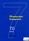 Conseil de l'Europe - Pharmacopée européenne - 4 volumes, 7.0 (2 tomes), 7.1, 7.2.