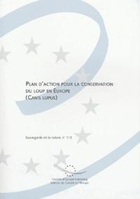 Conseil de l'Europe - Plan d'action pour la conservation du loup en Europe (Canis lupus).