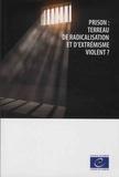 Conseil de l'Europe - Prison : terreau de radicalisation et d'extrémisme violent ?.