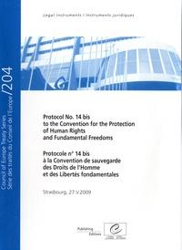 Conseil de l'Europe - Protocole n°14 bis de la Convention de sauvegarde des Droits de l'Homme et des Libertés fondamentales..