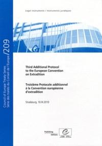 Conseil de l'Europe - Troisième protocole additionnel à la Convention européenne d'extradition.