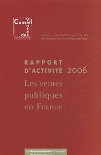 Era-circus.be Les ventes publiques en France - Rapport d'activité 2006 Image