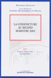 Deedr.fr La conjoncture au second semestre 2003 Image