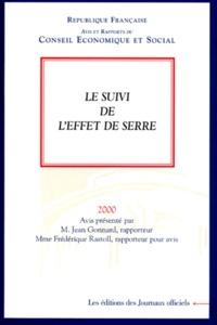 Le suivi de leffet de serre. - Séance des 24 et 25 octobre 2000.pdf