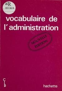 Conseil international de la la - Vocabulaire de l'administration.