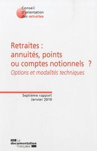 Cjtaboo.be Retraites : annuités, points ou comptes notionnels ? - Options et modalités techniques Image