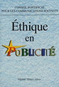 Conseil Pontifical - Ethique en publicité.