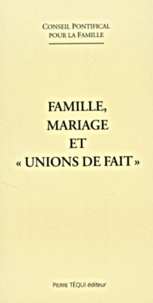 Conseil Pontifical Famille - .