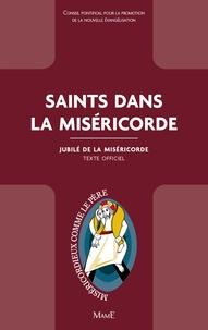 Conseil Pontifical promotion - Saints dans la Miséricorde - Jubilé de la Miséricorde.
