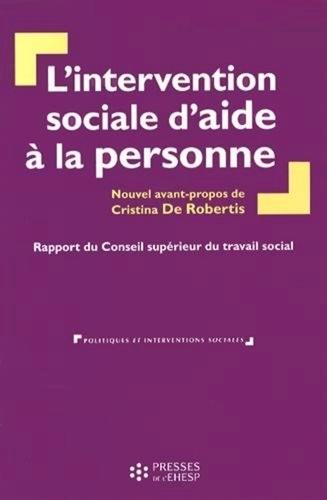 Conseil sup. du travail social - L'intervention sociale d'aide à la personne.