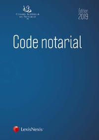 Ebooks gratuits rapidshare télécharger Code notarial 9782711028962 par Conseil supérieur du notariat CHM PDB en francais
