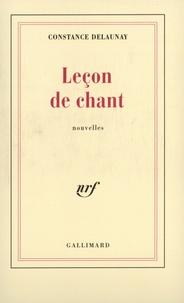 Constance Delaunay - Leçon de chant.