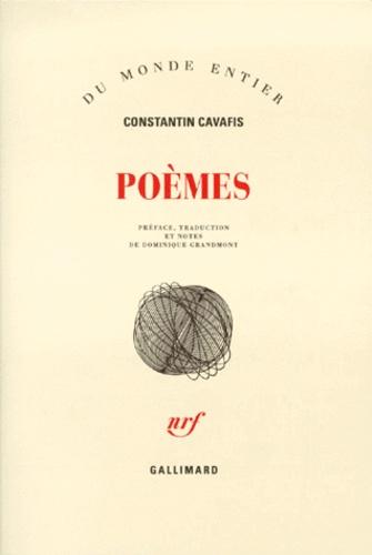 Constantin Cavafy - Poèmes.
