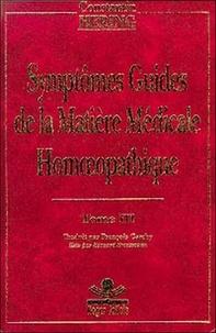 Constantin Hering - Symptômes guides de la matière médicale homoeopathique - Tome 3.