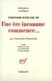 Constantin Paoustovski - L'histoire d'une vie - Tome 3, Une ère inconnue commence....