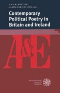 Contemporary Political Poetry in Britain and Ireland.