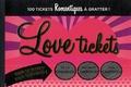Contre-dires - Love tickets - 100 tickets romantiques à gratter.