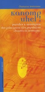 Histoiresdenlire.be Kanomp uhel! - Chansons bretonnes Image