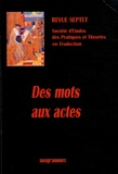 Camille Fort - Septet N° 1 : Des mots aux actes.