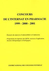 Coopérative Université Club - Concours de l'internat en pharmacie 1999-2000-2001.