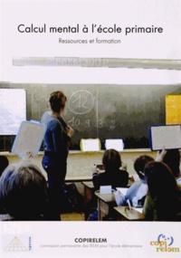 Calcul mental à lécole primaire - Ressources et formation.pdf