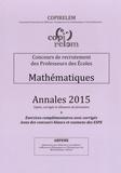 COPIRELEM - Mathématiques Annales 2015 - Concours de recrutement des professeurs des écoles.