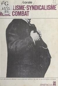 Corale et Maurice Jaquier - Capitalisme-syndicalisme, même combat.
