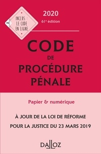 Coralie Ambroise-Casterot et Jean-François Renucci - Code de procédure pénale annoté.