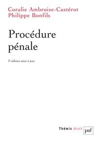 Coralie Ambroise-Castérot et Philippe Bonfils - Procédure pénale.