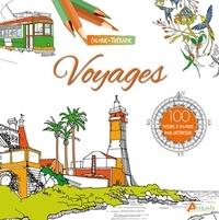 Coralie Juchet - Voyages - 100 dessins à colorier pour déstresser.