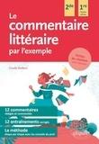 Coralie Nuttens - Le commentaire littéraire par l'exemple - Seconde et Première toutes séries.