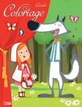 Coralie Vallageas - Coloriage les contes - Le Petit Chaperon rouge.