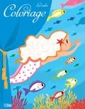 Coralie Vallageas - Coloriage les contes - La petite sirène.