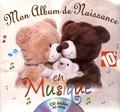 Coralline Pottiez - Mon album de naissance en musique. 1 CD audio
