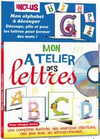 Coralline Pottiez - Mon atelier des lettres. 1 CD audio