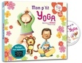 Coralline Pottiez et Bruno Robert - Mon p'tit yoga. 1 CD audio