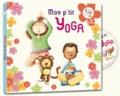 Coralline Pottiez - Mon p'tit yoga - Pour découvrir l'univers du yoga en histoires et en musiques. 1 CD audio