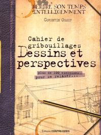 Corentin Osouf - Cahier de gribouillages dessins et perspectives - Plus de 100 exercices pour se relaxer....