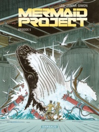 Corine Jamar et  Léo - Mermaid Project Tome 5 : .