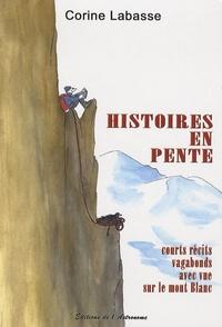 Histoiresdenlire.be Histoires en pente - Courts récits vagabonds avec vue sur le mont Blanc Image