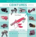 Corine Romeyer - Ceintures.