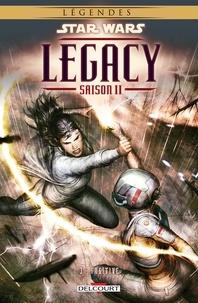 Corinna Bechko et Gabriel Hardman - Star Wars Legacy - saison II Tome 3 : Fugitive.