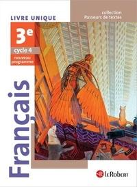 Corinne Abensour et Adrien David - Français 3e - Livre unique.