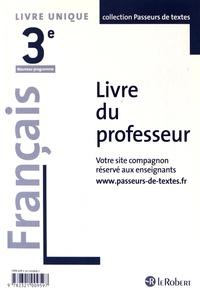 Corinne Abensour - Français 3e - Livre du professeur.