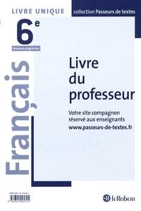 Corinne Abensour - Français 6e - Livre du professeur.