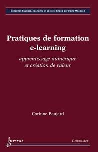 Corinne Baujard - Pratiques de formation e-learning - Apprentissage numérique et création de valeur.