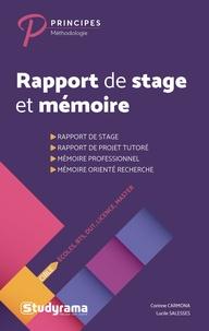 Rapport de stage et mémoire - Ecoles, BTS, DUT, Licence, Masters.pdf